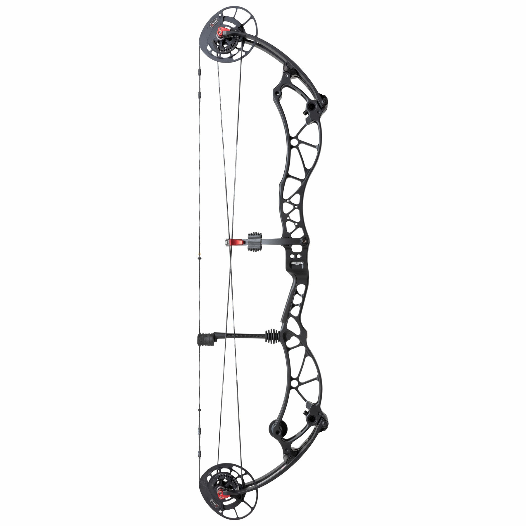 Reckoning black archery compound bow