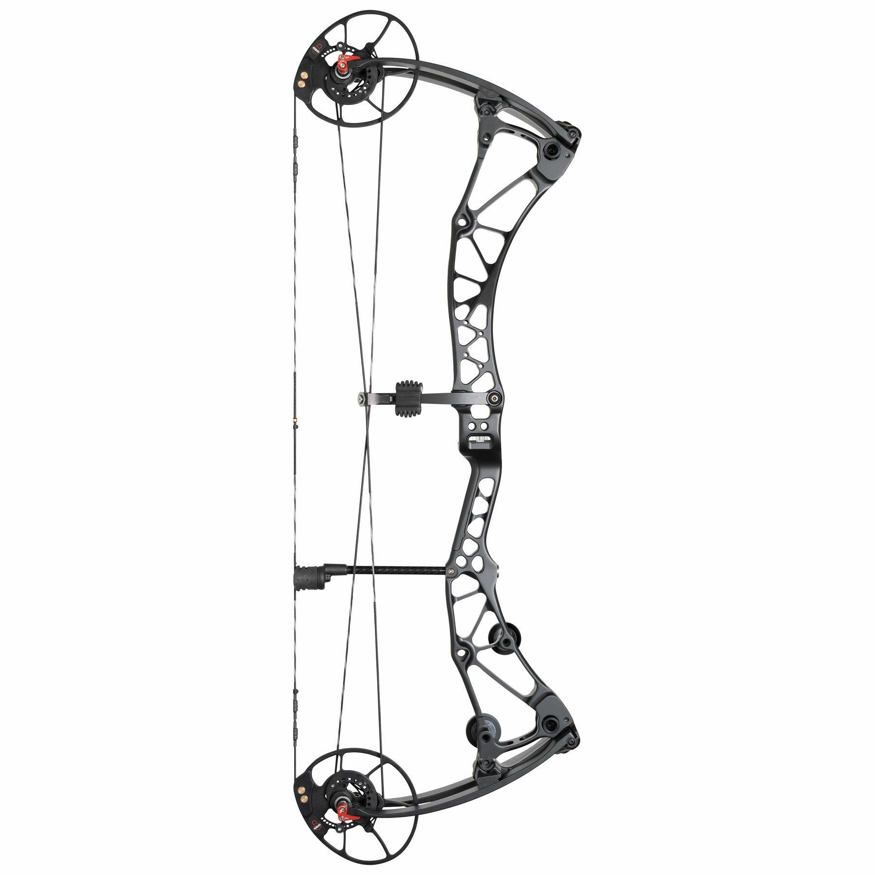 Revolt black archery compound bow