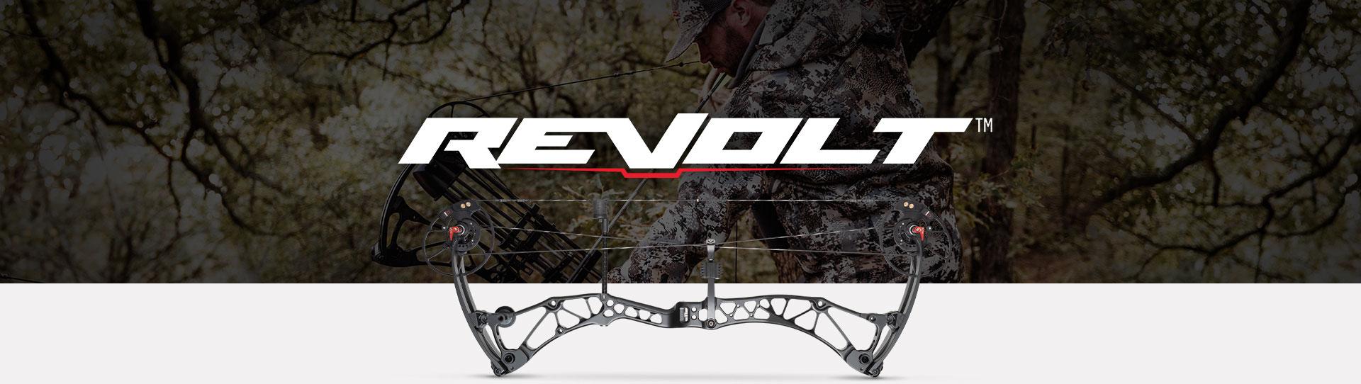 Revolt archery hunting bow