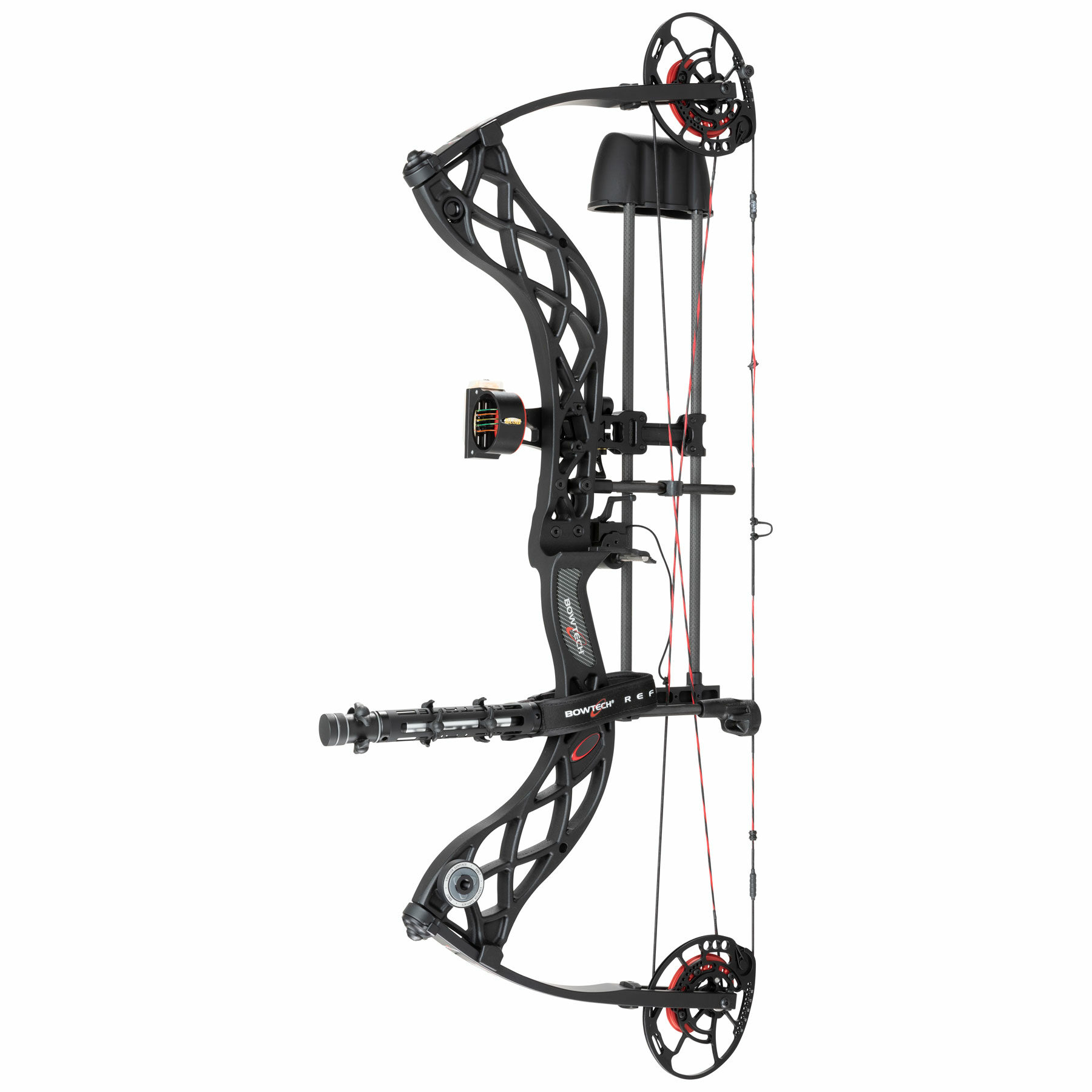 Carbon Zion DLX black archery compound bow